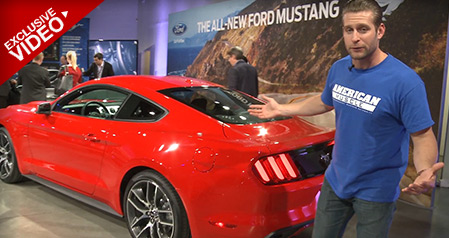 2015 Mustang Reveal