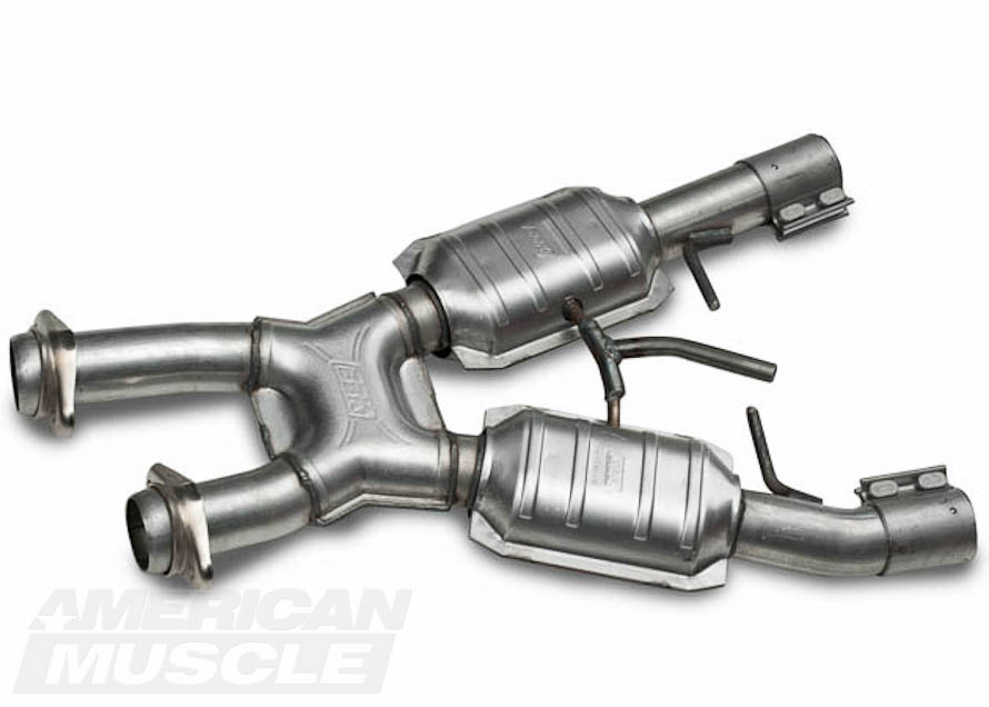 BBK Catted 1999-2004 Mustang Mid-Pipe