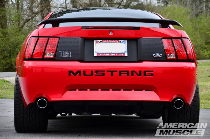 1999-2004 Mustang with Honeycomb Decklid Panel
