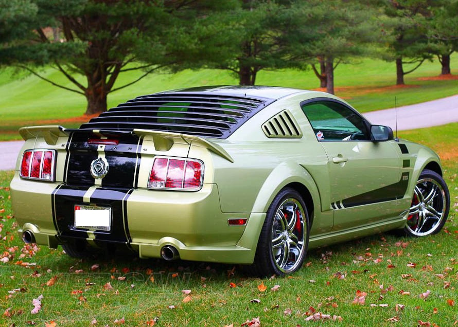 2005-2009 Mustang with a Spoiler and Other Body Pieces