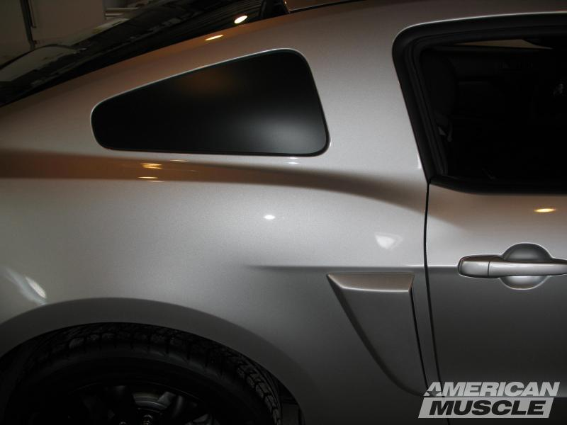 Black Out Decal for Mustang Quarter Window