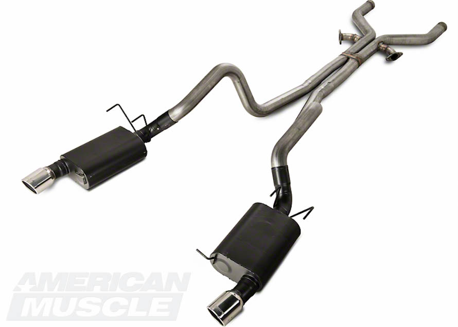 2013 Boss Mustang Cat-Back Exhaust