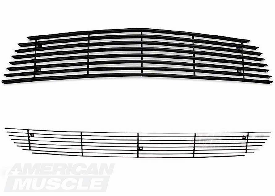 Black Replacement 2010-2012 Mustang Grille