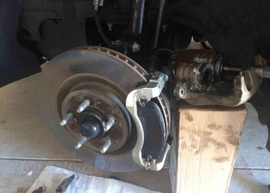 2011-2014 Mustang Ceramic Front Brake Pads