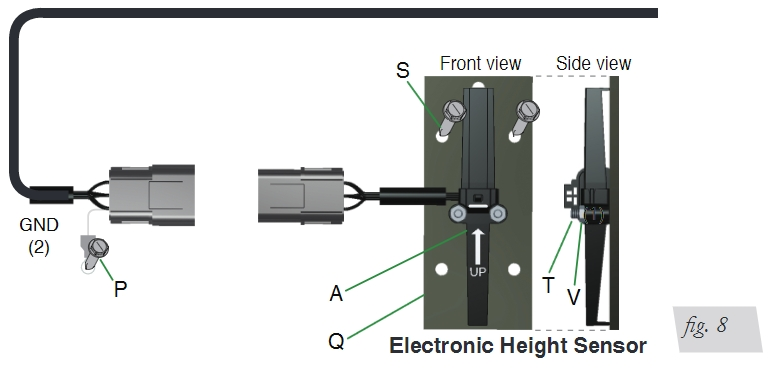 how to install air lift smartair ii automatic leveling system installation diagram