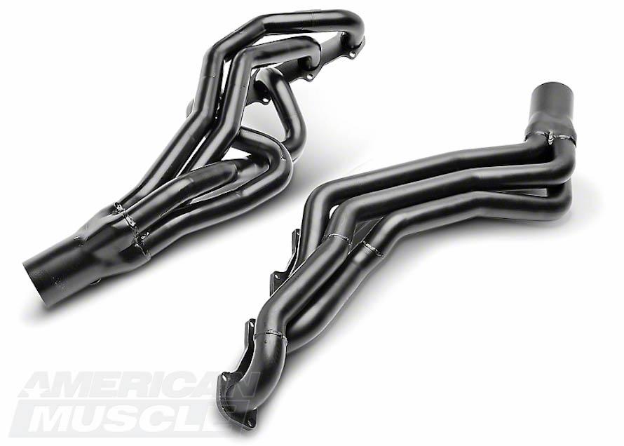 Pacesetter Black Long Tube Headers for GT Mustangs