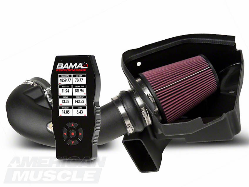 Mustang Cold Air Intake and Tuner Combo