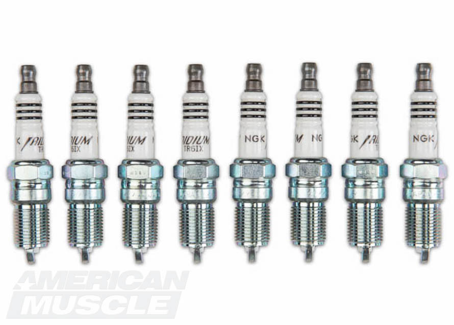 Colder Set of NGK Iridium Spark Plugs