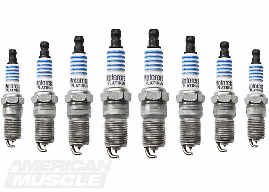 Motorcraft OEM Spark Plug Set - 1999-2001 Cobras and 2003-2004 Mach1s