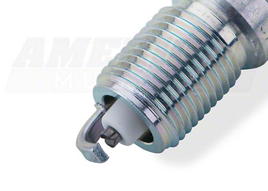 NGK V-Power Spark Plug for 1993-2001 Cobra, 1996-2004 GT, Mach 1, and 1998-2004 V6 Mustangs