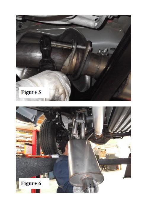 Borla Atak Cat Back Exhaust Mustang Ecoboost Used