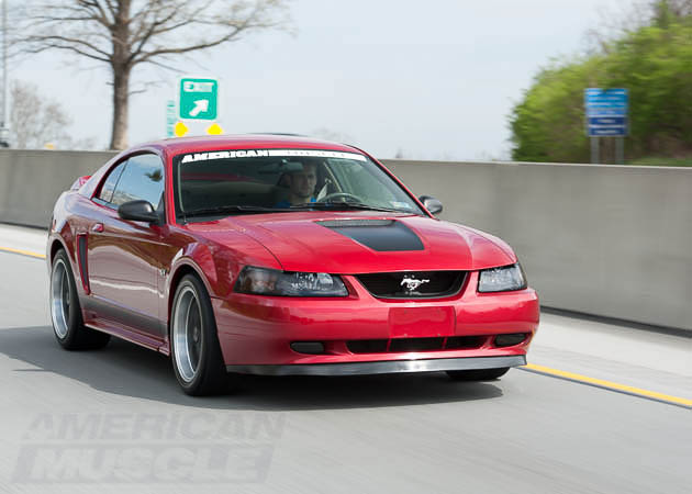 2000 GT Mustang on the Street