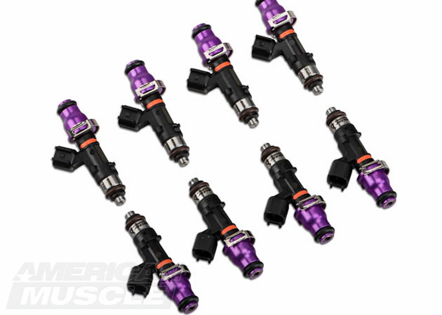 Set of High Impedance Mustang Injectors from Injector Dynamics