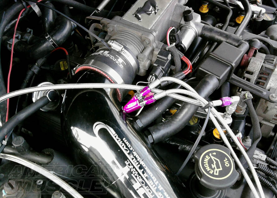Wet Injection Nitrous System for 1986-2004 V8 Mustangs