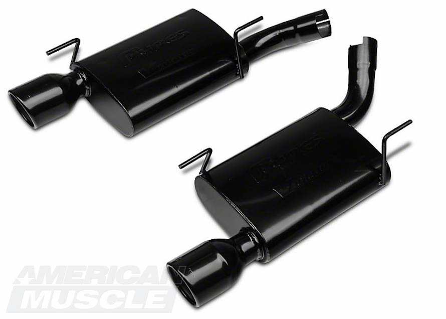 2005-2010 Mustang GT Chambered Muffler Axleback Kit