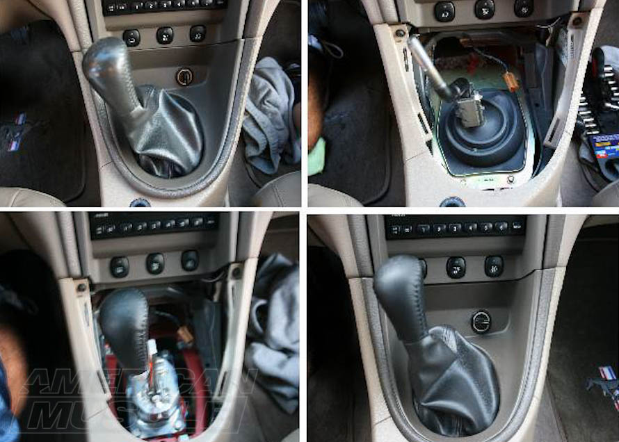 Tri-Ax Adjustable Shifter for TR-3650 Equipped Mustangs