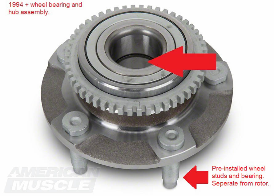 1994 and Newer Mustang Wheel Bearing Assembly