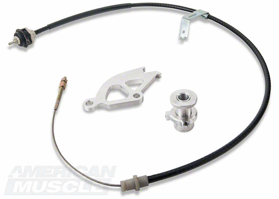 Adjustable SR Performance Clutch Cable Kit for 1983-1993 5.0L Foxbodies