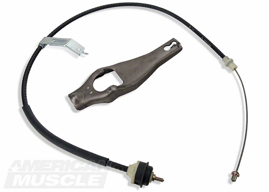 Ford Performance Clutch Cable and Fork for 1979-1993 5.0L Foxbodies