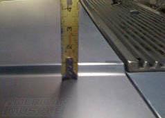 Foxbody Cowl Hood Measuring