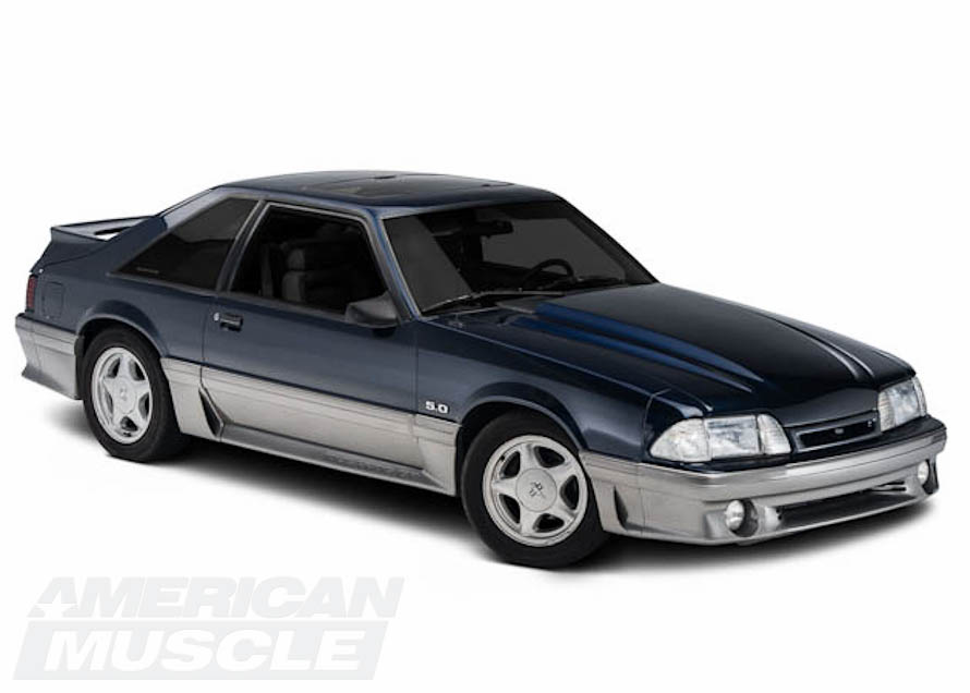 Stock Foxbody Mustang GT