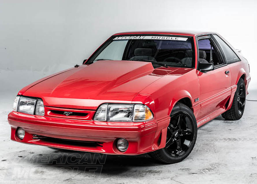 Foxbody GT Front End with Cowl Hood
