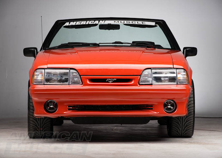 1993 Foxbody Mustang Front End