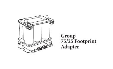 Optima Yellowtop Battery Manu Install furthermore  on puck battery adapters