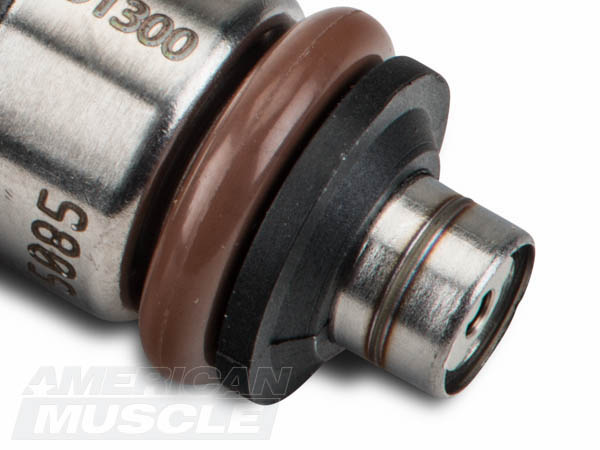 High Impedance Mustang Fuel Injector Nozzle Close-Up
