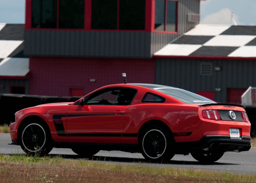 Mustang Boss 302 at the Track