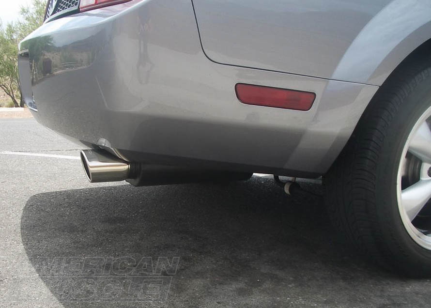 2005-2009 V6 Mustang with a Flowmaster Axle-Back Exhaust