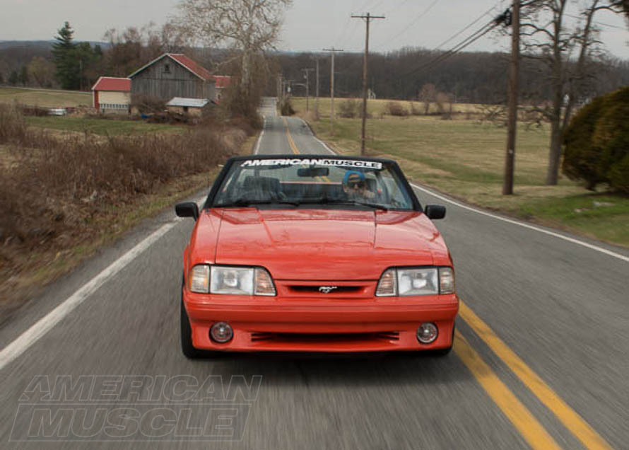 1993 Foxbody Convertible Cruising the Roads