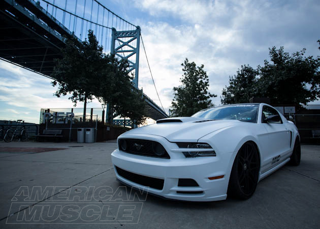 project mmd mustang near a bridge the ultimate mustang suspension guide everything you need to know