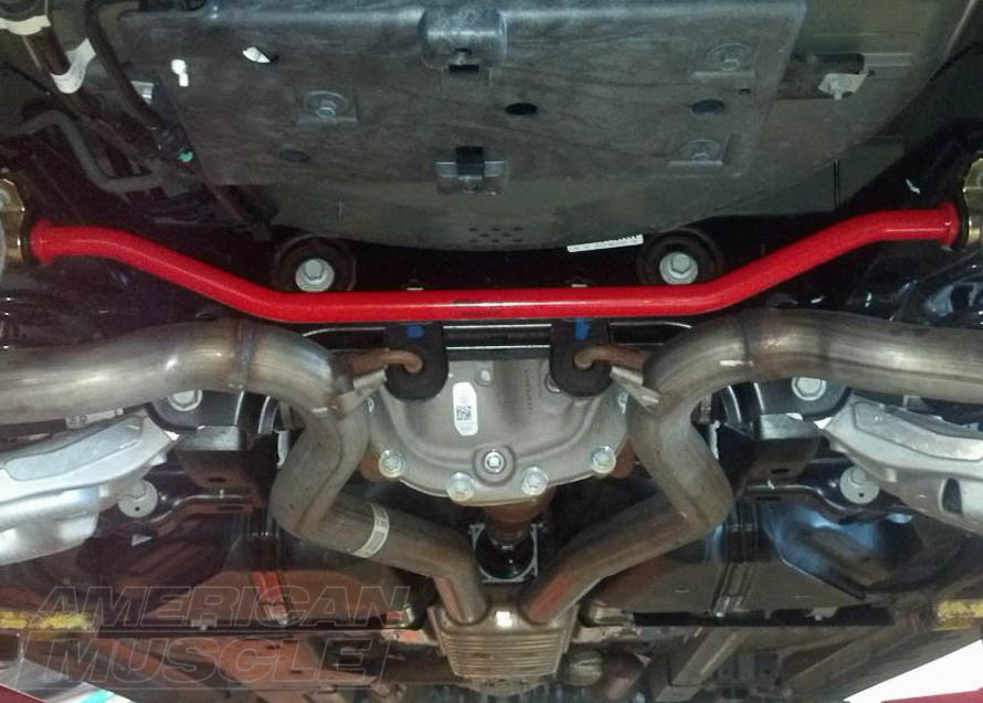 Eibach Rear Anti-Roll Sway Bar Installed on a 2015-2017 Mustang