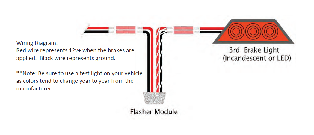 How To Install A Raxiom 3rd Brake Light Flasher On Your