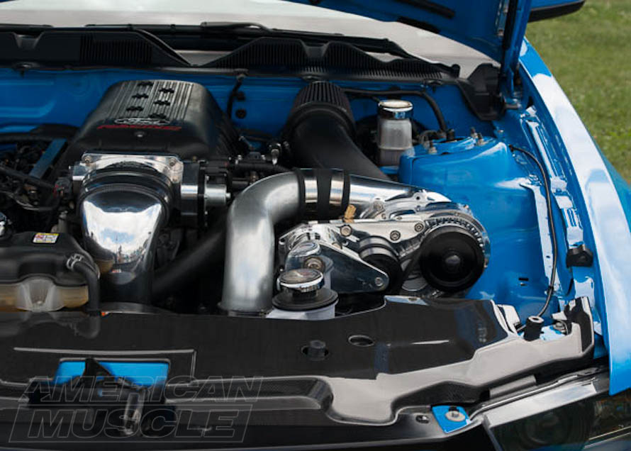 2010-2014 Boss Mustang with a Centrifugal Supercharger