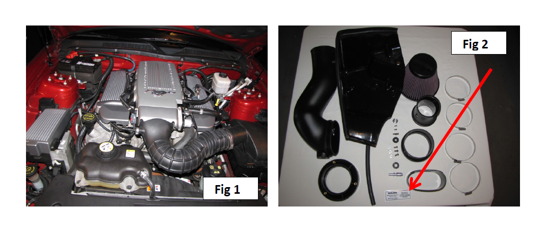 how to install a roush cold air intake on your 2005