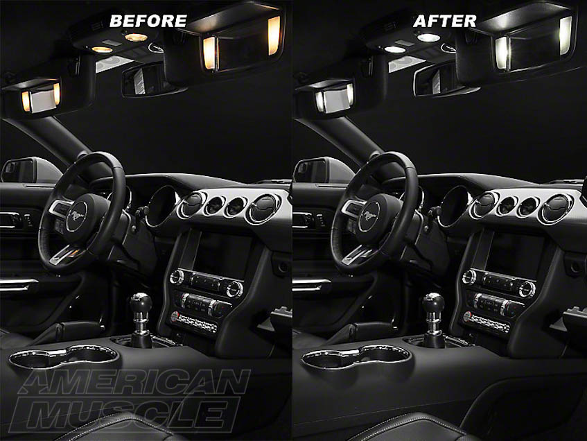 modding the s550 interior 2015 mustang cabin upgrades americanmuscle. Black Bedroom Furniture Sets. Home Design Ideas