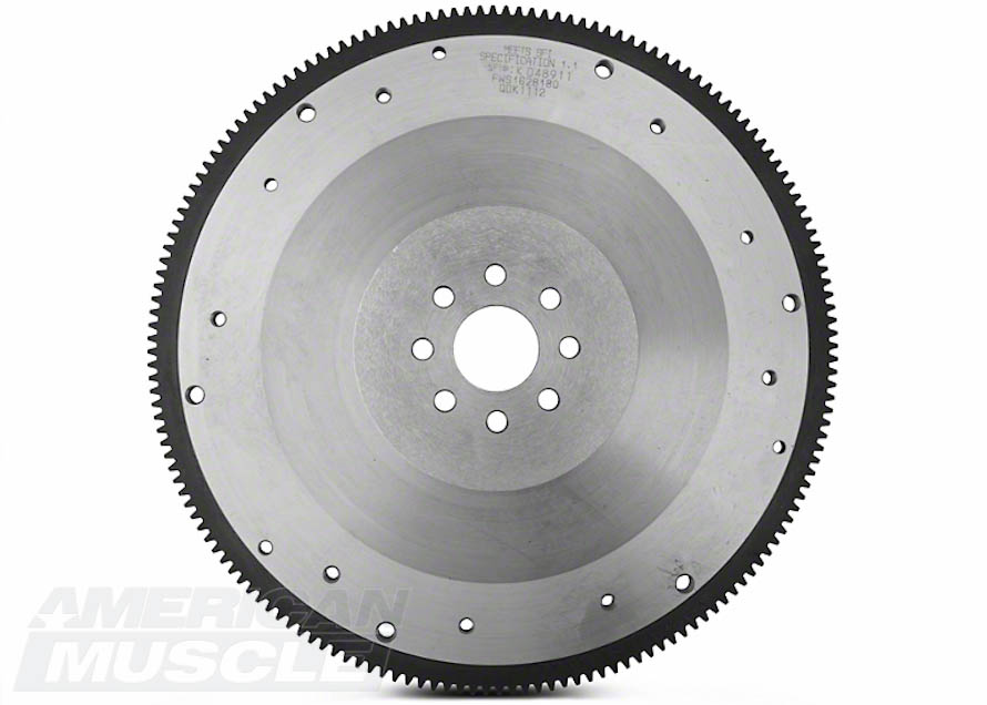 Billet Steel 8-Bolt Flywheel for 1999 to Mid-2001 GT, 1996-2004 Cobra, and Mach 1 Mustangs
