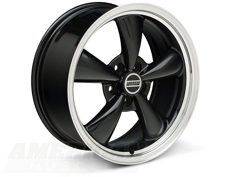 Black Bullitt Mustang Wheel 18x8
