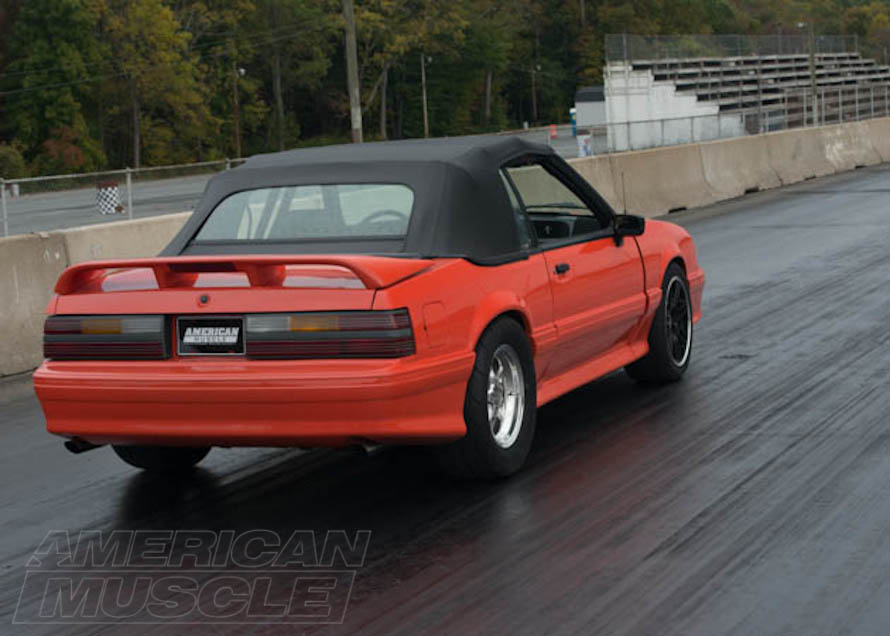 1993 Foxbody Convertible Ready for a Drag Race