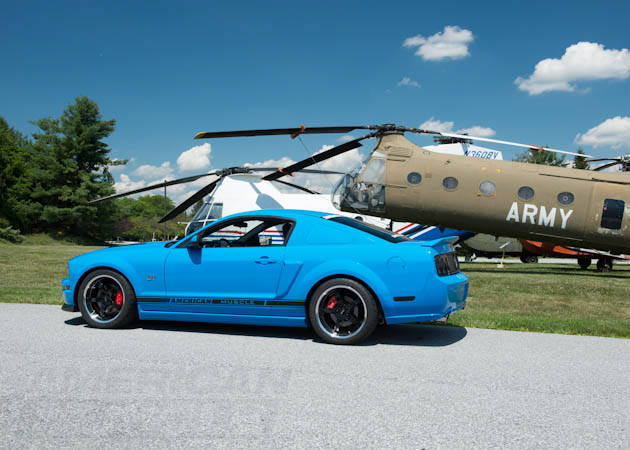 Army Chinook with S197 Mustang GT