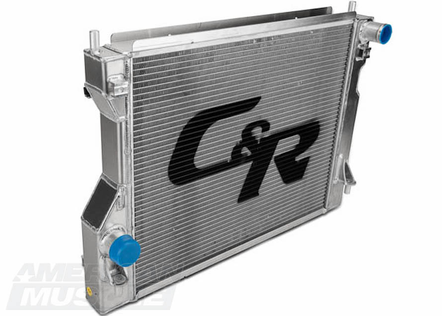 C&R Aluminum Mustang Radiator
