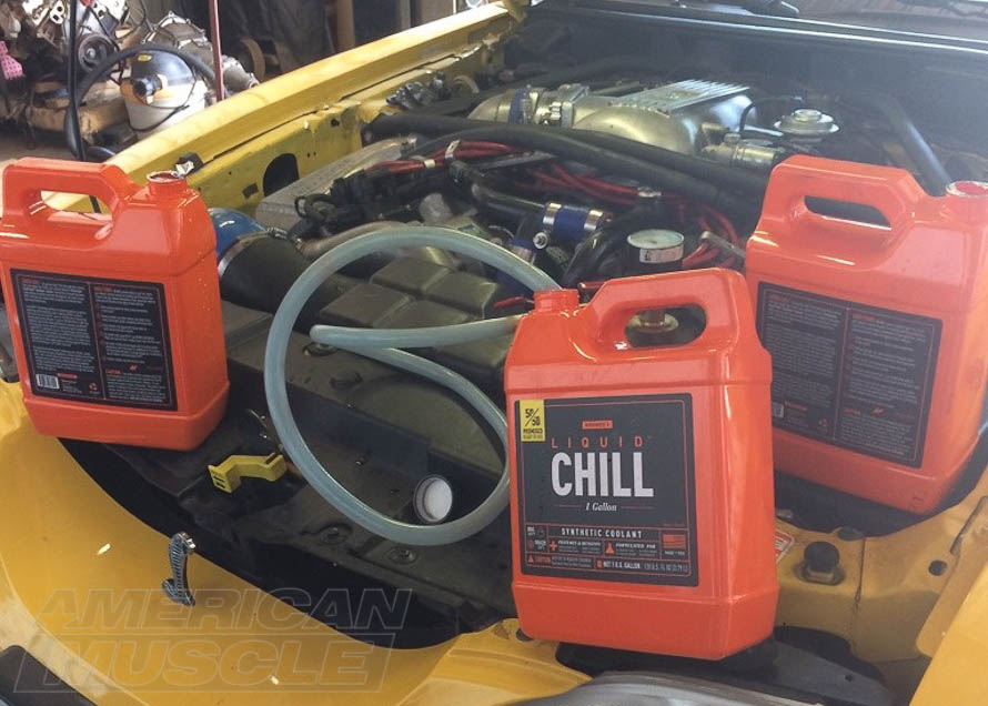 Mishimoto Liquid Chill 50/50 Pre-Mix Coolant for All mustangs
