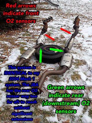 Mach 1 Mustang Oxygen Sensor Locations