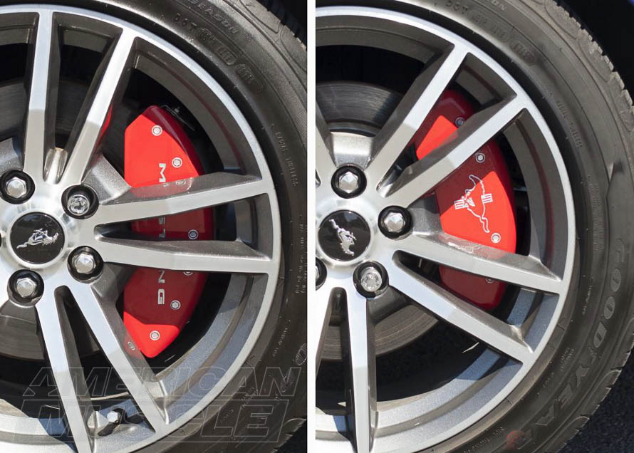 2015-2017 Mustang with Caliper Covers