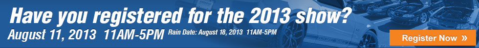 Register for the 2013 AM Car Show