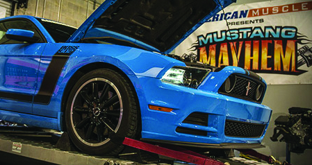 AmericanMuscle 2013 Mustang Mayhem Competition