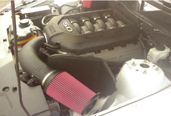 JLT Cold Air Intake and Bama Performance Tuner Combo Kit Installation 11