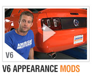 AmericanMuscle 05-09 V6 Bolt-on Build-Ups Appearance Mods